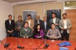 Estudiantes beneficiados con la Beca Deportiva fueron recibidos por Rector Arias