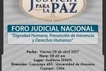 En Universidad de Atacama se organiza foro judicial sobre tratados internacionales de DDHH
