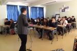 Estudiantes de enseñanza media reciben charlas motivacionales brindadas por profesionales del CTA UDA