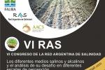 Experto en suelos salinos de la UDA participó en VI Congreso de Red Argentina de Salinidad