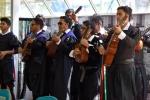 Tuna de Ingeniería de la UDA realizó intervención cultural para los nuevos estudiantes de la Casa de Estudios