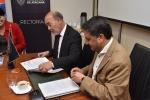 Relevante Convenio de Colaboración firmaron Universidad de Atacama y Mainstream