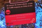 Sensibilizan a estudiantes con campaña contra el cáncer de mama