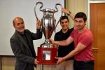 Selección de fútbol de la UDA hace historia al obtener tres copas en el Campeonato Laboral 2017