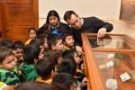 Decenas de niños participaron en Recorrido Patrimonial de la UDA durante la Semana de la Educación Artística