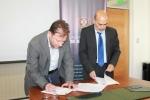 Centro de Investigaciones Costeras de la UDA firmó convenio con empresa acuícola mexicana