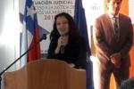 Académica de la UDA participó en seminario del Poder Judicial