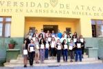 Con éxito se concretó capacitación en la Universidad de Atacama