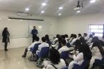 Estudiantes del Colegio Cervantino Conocieron la Facultad de Medicina de la UDA
