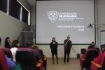 Alumnos del Departamento de Idiomas fueron acogidos por sus docentes en actividad de bienvenida 2018
