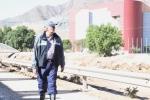Senador visita la Universidad de Atacama y constata en terreno los daños que dejó el sistema frontal