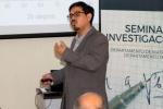 Con una conferencia sobre nuevos materiales para aplicaciones en contacto eléctrico, se dio inicio a Ciclo de seminarios de investigación