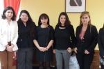 Alumnas de Derecho UDA comenzaron pasantía en Sernam