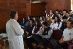 Facultad de Medicina de la UDA ofreció Charla sobre Prevención del SIDA en el Liceo de Música