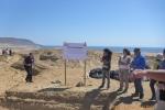 Equipo científico de la UDA reanudó la excavación paleontológica en Los Dedos
