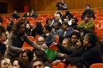 Comunidad universitaria asistió masivamente a la presentación de la candidatura del Rector Celso Arias