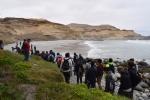 Estudiantes de Geología de Chile y el extranjero conocieron sitios patrimoniales del borde costero de Atacama