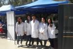 Estudiantes de Medicina de la UDA promovieron hábitos saludables en Plaza de Armas de Copiapó