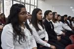 Cerca de cuarenta estudiantes de Educación General Básica recibieron sus uniformes en Investidura