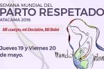 Universidad de Atacama organiza Semana Mundial del Parto Respetado en Copiapó