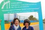 Departamento de Trabajo Social participa del II Congreso Nacional e Internacional de la Red de Escuelas del CRUCH