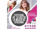 Invitan al primer Festival de la Voz de la Mujer de Atacama