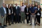 Equipo de la Dirección de Innovación, Desarrollo y Transferencia de la UDA, visitó la Universidad de Concepción